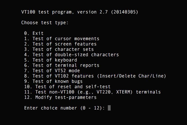 XTerm | System Under Test